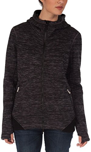 Bench Damen Pullover Strickjacke Aptitude schwarz (Jet Black) X-Small