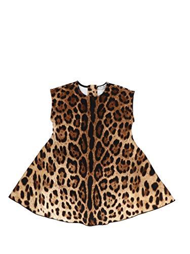 DOLCE E GABBANA Kleines Mädchen L2jd0rfsgqxhy13n Braun Baumwolle Kleid - Dolce Gabbana Kleid Schuhe