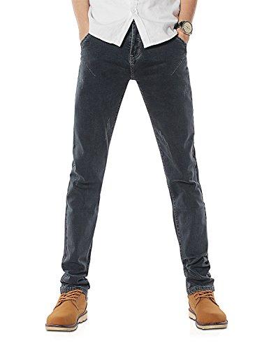 Demon&Hunter 808B Serie Männer Herren dünne Sitz dünne Jeanshose Jeans DH8082(29)