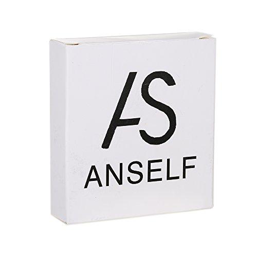 Anself Tri Fidget Dito Mano Spinner Spin Widget Fuoco Giocattolo EDC Tasca Desktoy del Regalo per Bambini Adulti - 6