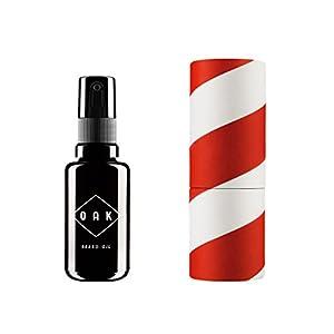 OAK BEARD OIL I Bartöl, Bart Conditioner (30 ml): Macht den Bart weich mit Bio-Ölen. Natürliche Bartpflege für Männer mit 3-Tage-Bart bis Vollbart. Vegane, zertifizierte Naturkosmetik aus Berlin.
