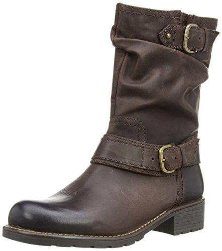 Clarks - Stivali Orinocco Jive, Donna, Marrone (Braun (Brown Leather)), 38