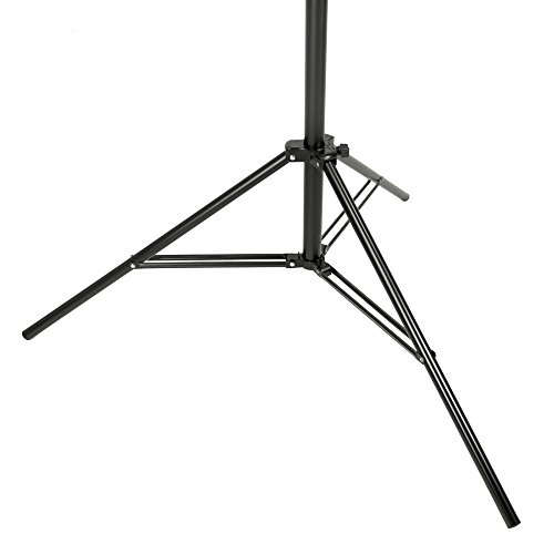 PIXAPRO® Studio Heavy Duty Hinged Light Boom Stand with Counterweight Detachable Boom Arm Poly Stand Professional Photography Aluminium Two Section Stand Interchangeable Spigot Location *Fast Delivery *UK Stock *VAT Registered
