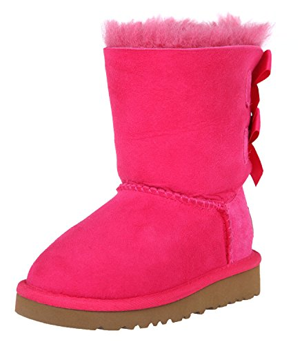 UGG Kids Bailey Bow Cerise / 5 Toddler (Uggs Kids Bailey Bow)