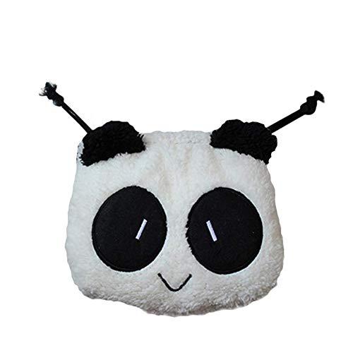 doitsa Mignon creativa de peluche estudiantes historieta Panda oso bolsillo bolsa de maquillaje bolsa de teléfono–Estuche para bolígrafo