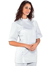 Robinson casaca Mujer dentista de manga corta blanco