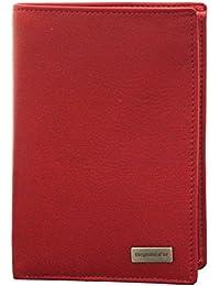 d668da305a7 Portefeuille design Portefeuille homme cuir rouge N1335 Cadeau homme