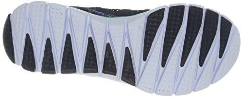 Skechers Skech-flexultimate Reality, Baskets Basses femme Blau (NVMT)