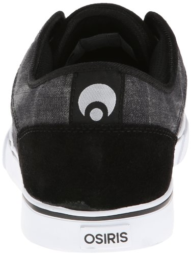 Osiris Decay, Chaussures de skateboard homme Black/Cream/White