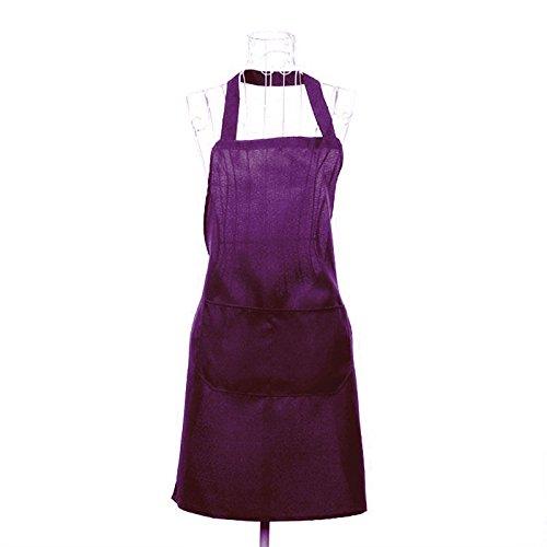 Kicode Uniformes antisalissure sans Manches Tablier de Cuisine Chefs de Cuisine Barbecue Fournitures de Restaurant Imperméable