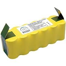 ASP ROBOT Batería 3000mah 14.4V para iRobot Roomba 550 Serie 500. Recambio recargable repuesto compatible para aspirador Roomba. Serie 5 3AH