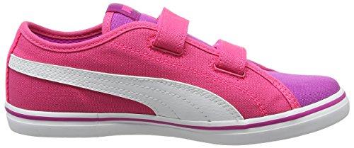 Puma Unisex-Kinder Elsu V2 Cv V Ps Low-Top Pink (ultra magenta-puma white 11)