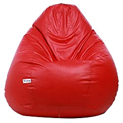 Sattva XXL Bean Bag without Beans (Red)