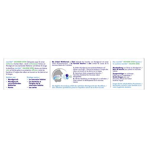 meridol SICHERER ATEM Zahnpasta, 2er Pack (2 x 75 ml) - 2