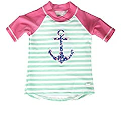 Baby Banz Camiseta Termica Manga Corta ANTI-UV Ancla, 2 años.