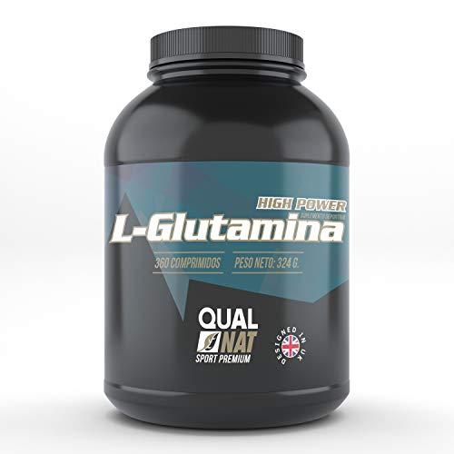 L-glutammina pura | integratore sportivo | aumentare la massa musculare | protegge il coropo e fornisce energia | rafforza il sistema immunitario | qualnat integratori - 360 compresse