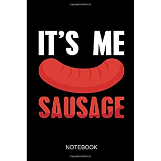 It's me sausage - Notebook: Dieses linierte Notizbuch eignet sich perfekt für jeden, der Denglisch lustig findet.