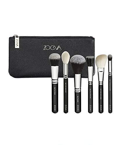 134abb7f85ec81 ZOEVA Make-up Pinsel Classic Face Set 102 Silk Finish + 105 Luxe Highlight +
