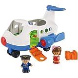 Jouet Avion et figurines Fisher-Price - Little People - Lil' les déménageurs - chanson en tchèque