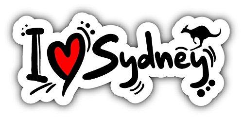 i-love-sydney-travel-slogan-car-bumper-sticker-decal-15-x-8-cm