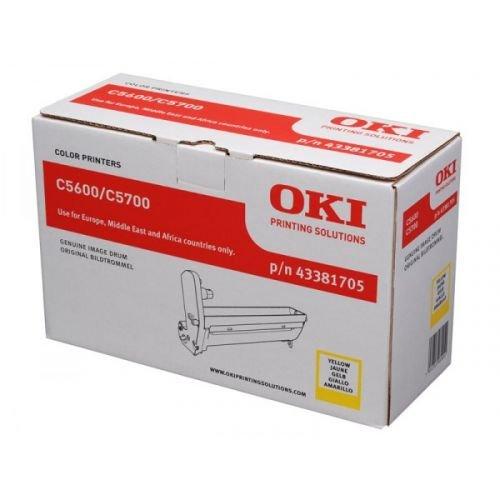 Original Trommel für OKI C5600 C5600N C5700 C5700N, gelb
