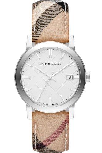 Burberry BU9025-Uhr für Frauen, Leder-Armband