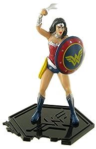 Figuras de la liga de la justicia - Figura wonder woman (mujer maravilla) - 9 cm - DC comics - Justice league - liga de la justicia (Comansi Y99196)