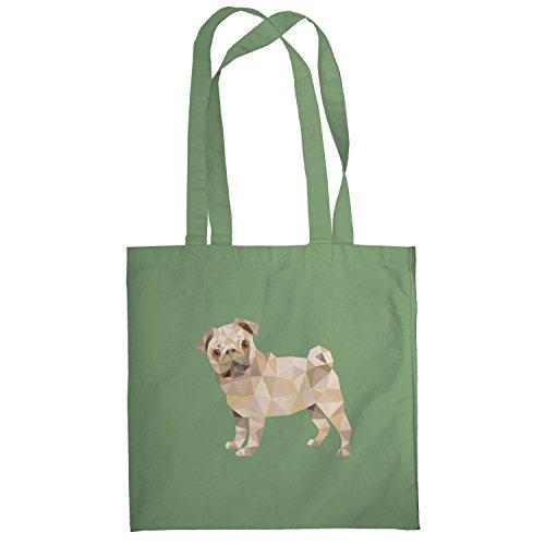 Texlab–Poly Pug–sacchetto di stoffa Oliva