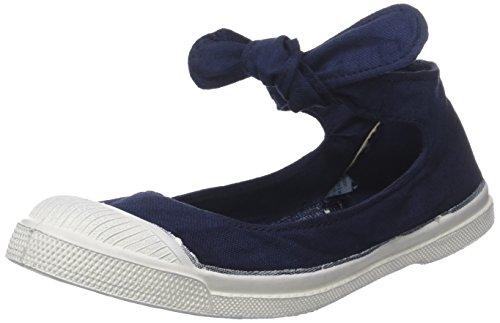 Marine-blau-damen-tennis-schuhe (Bensimon Damen Tennis Flo Sneaker, Blau (Marine), 39 EU)