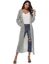 beste Qualität für offizieller Verkauf Designermode Suchergebnis auf Amazon.de für: damen strickmantel lang ...