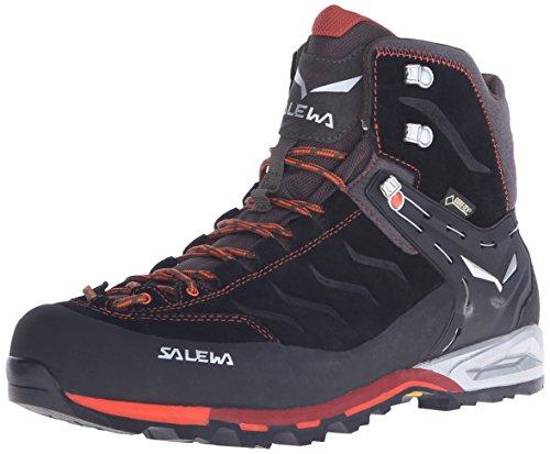 Salewa Herren Trekking- und Wanderstiefel MS MTN Trainer Mid GTX, Schwarz (Black/Indio 0943), 47 EU (12 Herren UK)