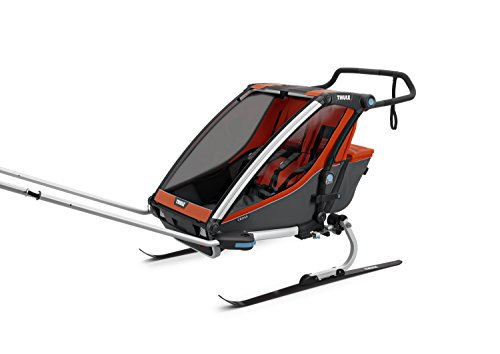Thule Baby 2 Chariot Cross 2, Rot, One Size - 3