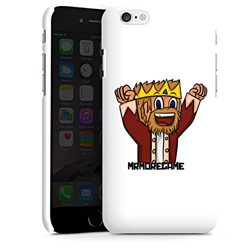 Apple iPhone X Silikon Hülle Case Schutzhülle MrMoregames Fanartikel Merchandise Youtuber Premium Case matt