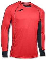 Joma - Camiseta portero protec coral flúor m/l para hombre