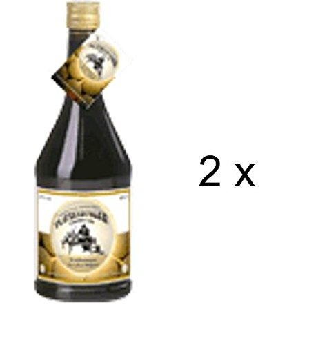 Plauzenbügler Kräuterbitter-Likör nach altem, überliefertem Rezept. 2 x 0,7 l. Mit vielen verdauungsfördernden Kräutern