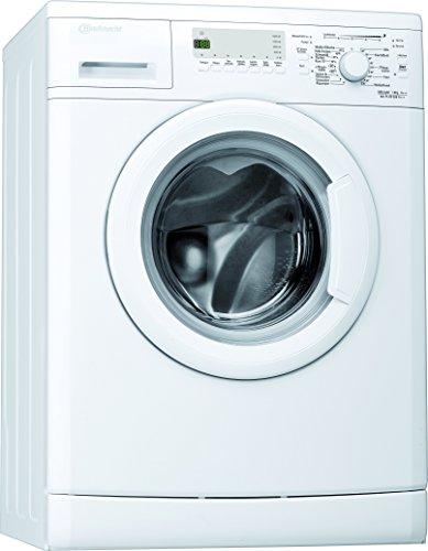 Bauknecht WA PLUS 636 A+++ Waschmaschine FL / 147 kWh/Jahr / 1600 UpM / 6 kg / 8500 l/Jahr / Startzeitvorwahl /Unterbaufähig / Weiß