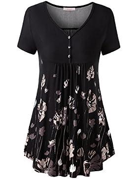 WAJAT T-Shirt - Basic - Maniche Corte - Donna