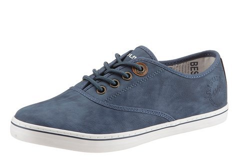 Oliver  5-5-23601-24/805, Chaussures de ville à lacets pour femme Bleu Marine