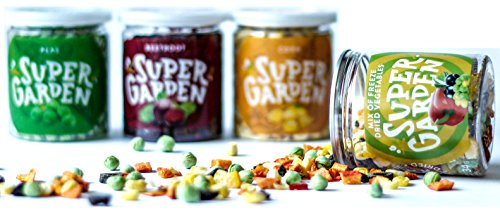 Supergarden Gemüse Snackbox - Gefriergetrocknetes Gemüse