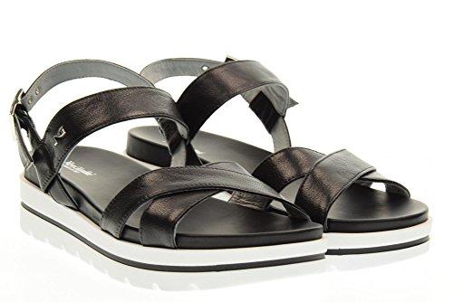 NERO GIARDINI scarpe donna sandali P717801D/100 Nero