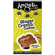 Angelic Gluten Free Galletas de Jengibre Crunch 125g (Pack de 6)