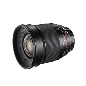 Walimex Pro 16mm 1:2,0 CSC-Weitwinkelobjektiv für Sony E Objektivbajonett schwarz (manueller Fokus, für APS-C Sensor gerechnet, IF, Filterdurchmesser 77mm, mit abnehmbarer Gegenlichtblende)