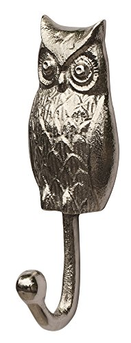 special-discount-souvnear-wall-hook-decor-angry-owl-sculpture-wall-mounted-single-robe-hook-handmade