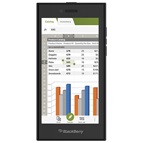 BlackBerry Leap - Smartphone de 5' (4G, Qualcomm MSM8960 Snapdragon S4 Plus, 2...