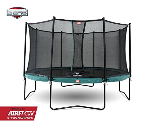 Berg Cama elástica Champion 430 (14ft) con Red de seguridad Comfort