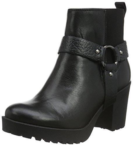 Shoe Biz Bella, Stivali da Motociclista Donna, Nero (Velvet Black), 37 EU