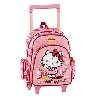 Graffiti Hello Kitty Mochila Escolar, 30 cm, Rosa (Pink)