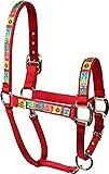 Red Haute Horse PJ Pet Products Retro Weihnachten Equine Elite Design High Fashion PREMIER Qualität Pferd Kopf Halsband, klein