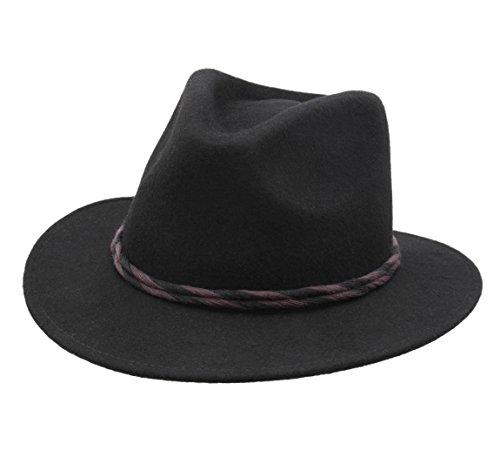 BRIXTON - Chapeau Fedora imperméable Feutre Homme ou Femme Corbet