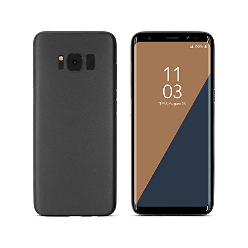 """Hülle Samsung Galaxy S8 (5,8"""") Ultra Slim Case - Handyhülle Super dünn (0,3 mm) und Leicht (3.5 g) in Schwarz - Cover Gegen Kratzer und Stöße – Case für Das Galaxy S8 (5,8"""